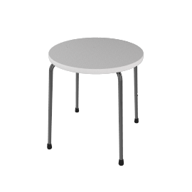 Tivoli Child`s Table, White