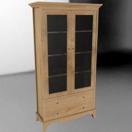 John Lewis Claremont Display Cabinet