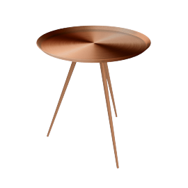 Quincey Side Table - Rose Gold