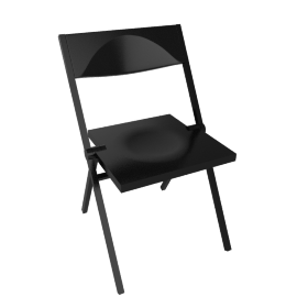 Piana Folding Chair - Black
