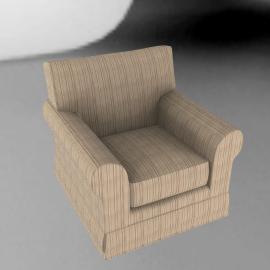 Padstow Armchair, Stripe