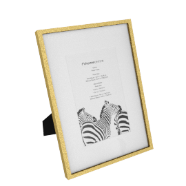 Gloria Photo Frame - 5x7 inches, Gold