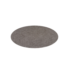 Chilewich Boucle Round Floor Mat, Pebble
