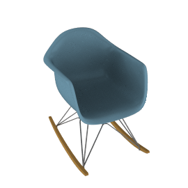 Eames® Molded Plastic Rocker - RAR