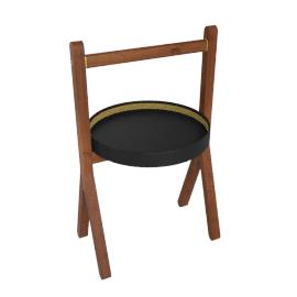 Ren - Side table, Testa di moro