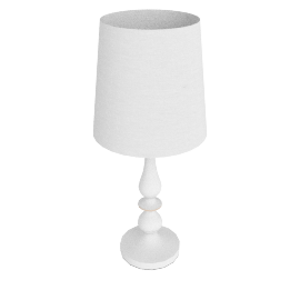 John Lewis Cecilia Wood Lamp, White