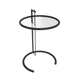 Adjustable Table E1027, Black