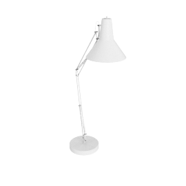 Brooklyn Giant Floor Lamp, White