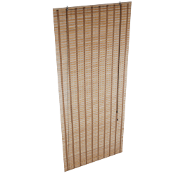 Elle Bamboo Blind 180X210Cm - Brown