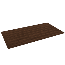 Supreme Drylon Bath Mat - 65x120 cms, Brown
