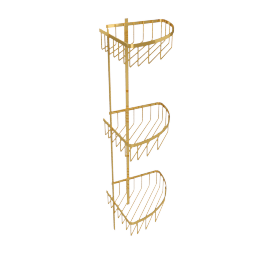 Catalufa 3-Tier Corner Shower Caddy