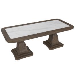 Lexington Coffee Table - Dark Grey/White