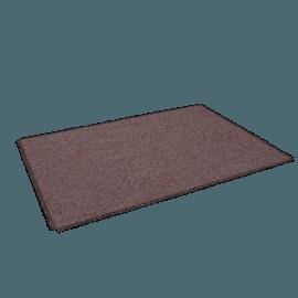 Chilewich Market Fringe Floor Mat, Sangria