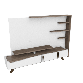 Canova Wall Unit, Cream/L.Wlnt