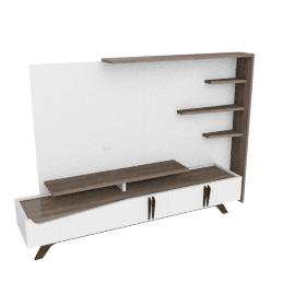 Canova Wall Unit, Cream/L.Wlnt