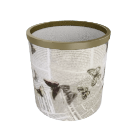 ultime notizie paper basket by fornasetti