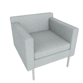 Theatre Armchair, Maharam Mode Fabric, Surf