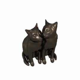 Yum Yum and Friend Cat Sculpture