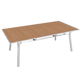 Barlow Tyrie Eclipse Rectangular Garden Table