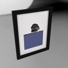 Jacky Al-Samarraie - Llanbeder Framed Print, 44 x 34cm