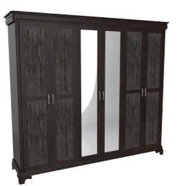 Karington Five-plus Door Wardrobe