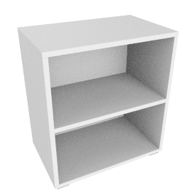 Match Shelf Unit, White