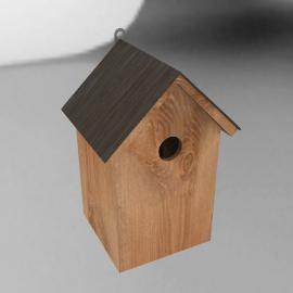 Slate Roof Nesting Box