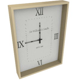 Romain Wall Clock