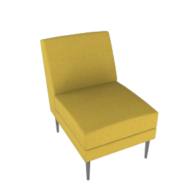 Libre One Seater - Ultrasuede®