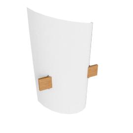 Domus Plan B Wall Lamp, beechwood