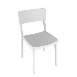 Lisboa Side Chair - White