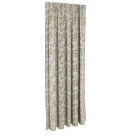 Elrene Jq Curtain Pair 130X240Cm Beige