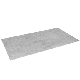 Indulgence Reversible Bath Mat - 100x180 cms, White