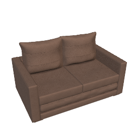 Alpha Sofa Bed, Mocha