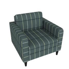 Lenon Armchair Sofa, Grey