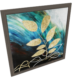 Foliage Glass Painting