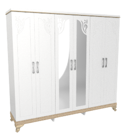 Ariel Five-plus Door Wardrobe