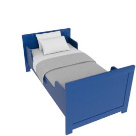Parker Toddler Bed - 70x140, Blue