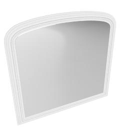 Croft Collection Overmantel Mirror, 94 x 90cm