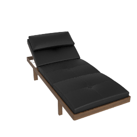BassamFellows Daybed - Walnut.Black