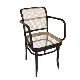 Hoffman Armchair, Coffee