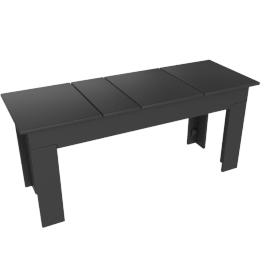 Lollygagger Picnic Bench, Slate