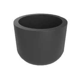 Cup Planter, Large, Slate