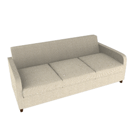 Mezzo Large Sofa, Natural