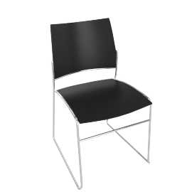 Curvy Chair, White
