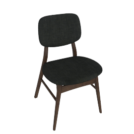 Kepler Dining Chair, Brown