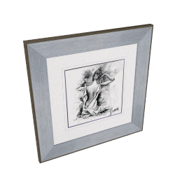 Joanne Boon Thomas- Figurative Study IV Framed Print, 47 x 47cm