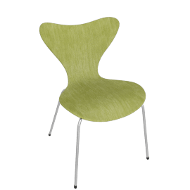 "Series 7 Chair - Colored Ash 17.3"" Seat Height"