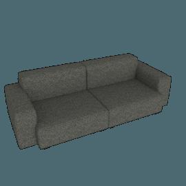 Mags Soft Low 2.5 - Seater Sofa, Olavi - Charcoal