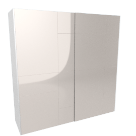 Lusso 2-Door Sliding Wardrobe